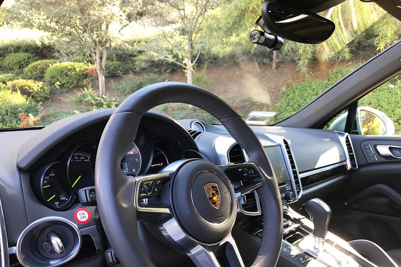 2017 Porsche Cayenne S E Hybrid Blackvue R 100 Dr650s 2ch Power Magic Pro Coaxial Cable 33 10m Installed On